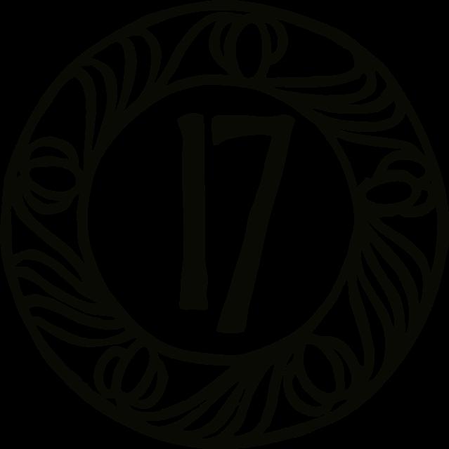 数字の17