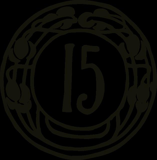 15の紋様