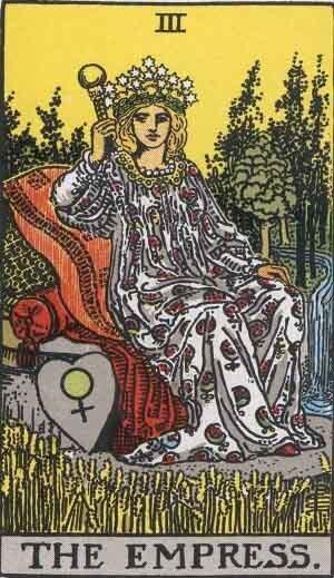 タロットカード女帝