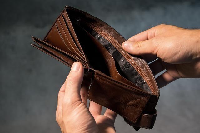 中身のない財布