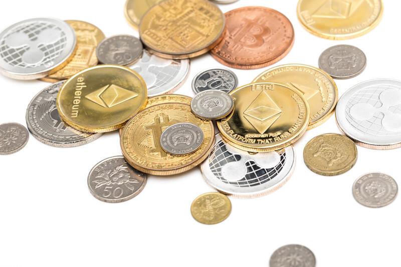 たくさんの硬貨