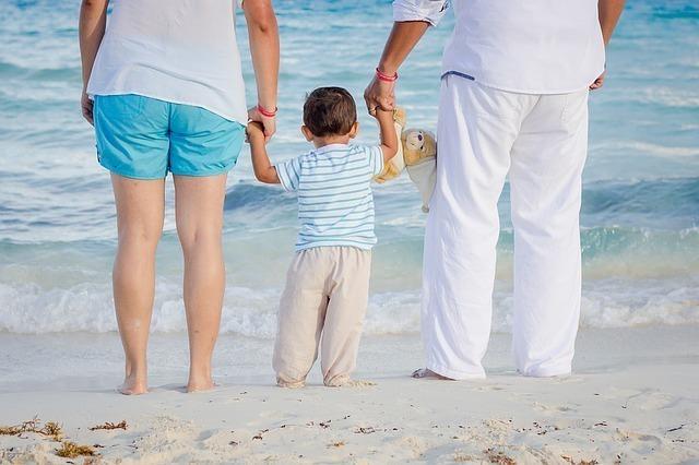 家族旅行の思い出