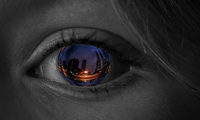 目に映る街