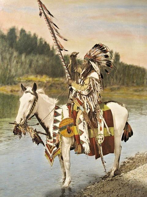 馬に乗ったインディアン