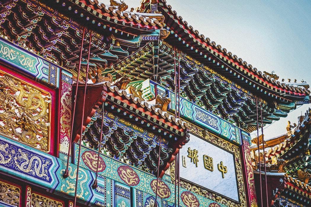 中国の城壁の画像