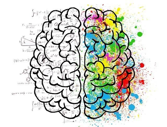 右脳と左脳の役割のデザイン画