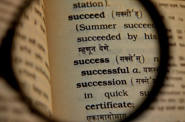 虫眼鏡と辞書