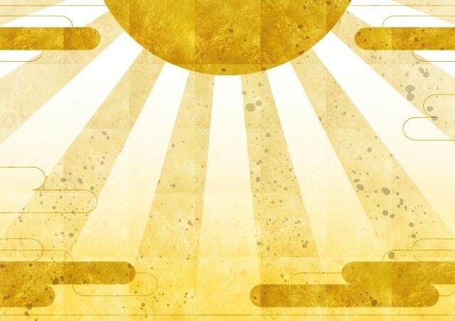 金箔の太陽