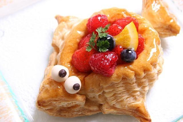 魚の形をしたお菓子