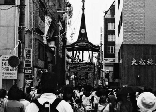 古い祇園祭の写真