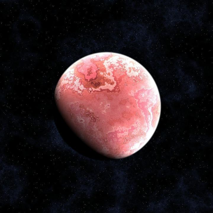 ピンクの月