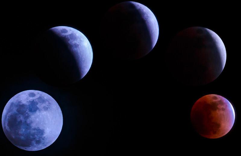 赤と青の星