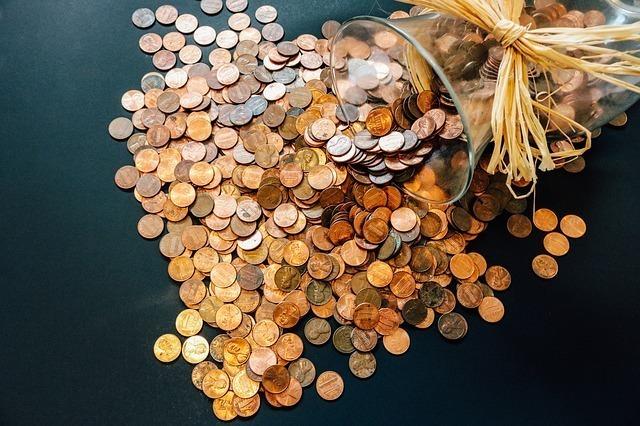 沢山のコイン