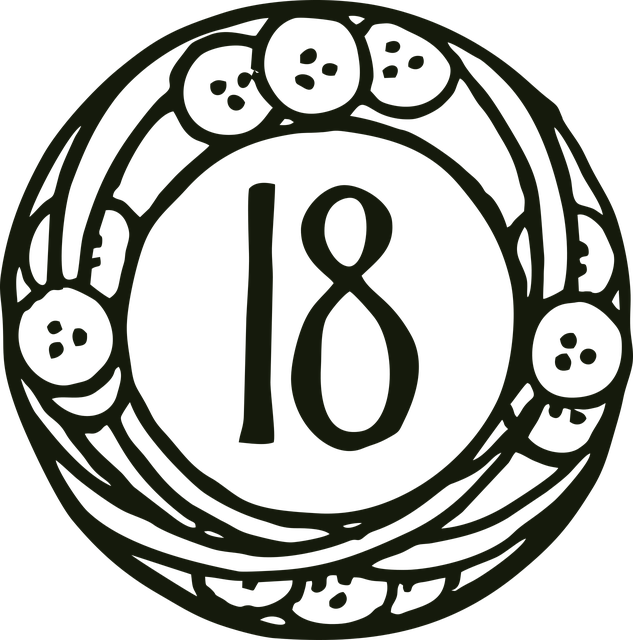 数字18に秘められた意味を表す図