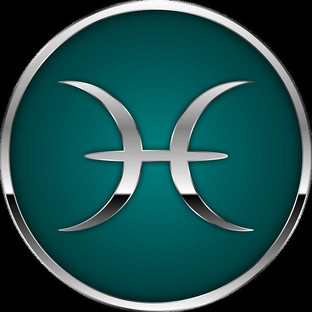 西洋占星術・魚座のマーク