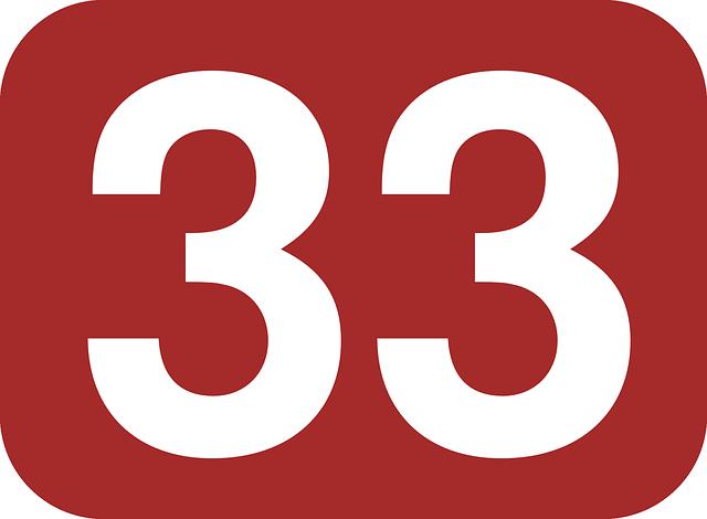 アカの33
