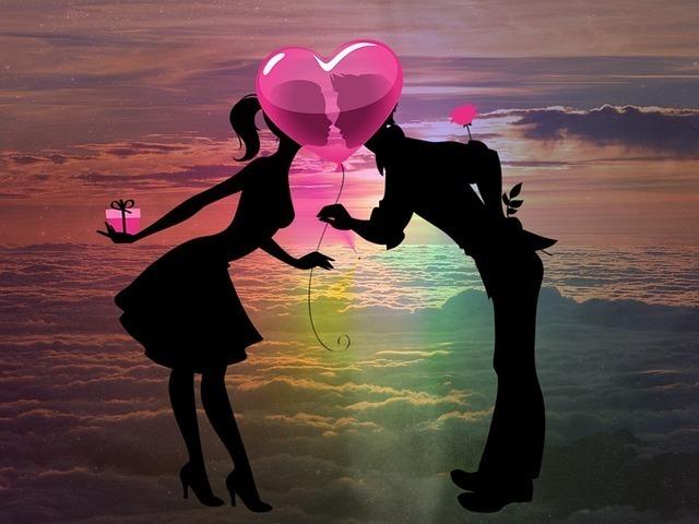 恋愛中の二人