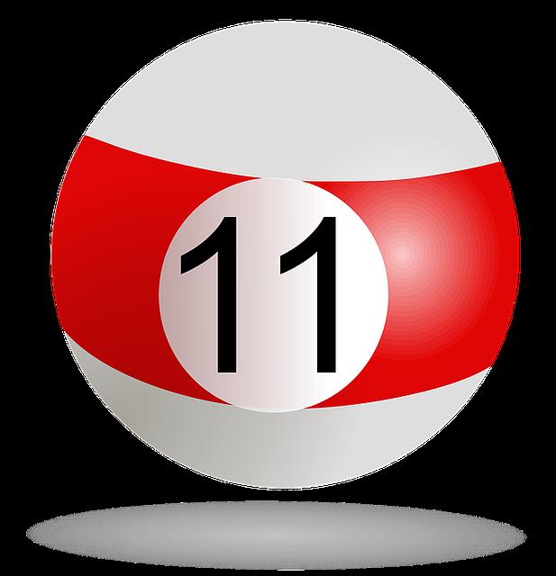 数字の11