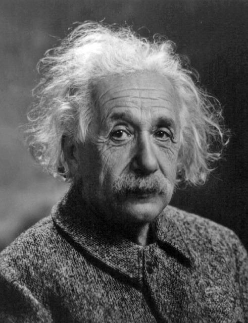 相対性理論を主張したアインシュタイン