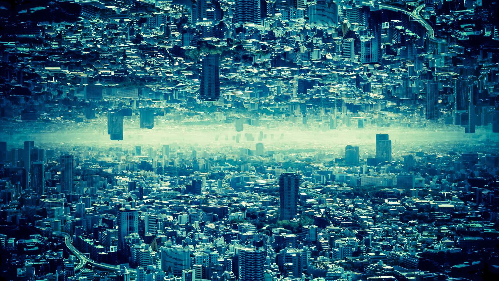 宇宙人が住んでいそうな高度な文明都市