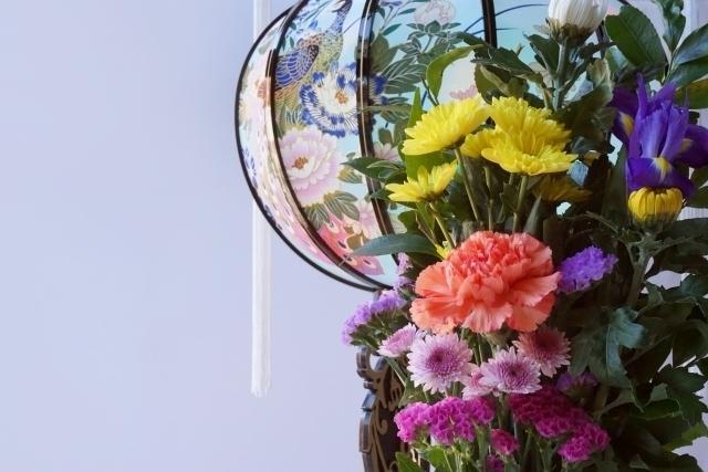 お花とぼんぼり