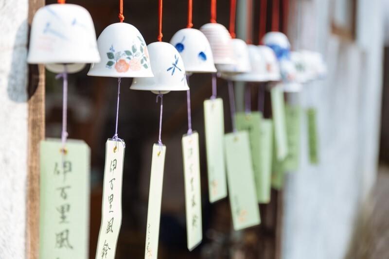 陶器製の風鈴