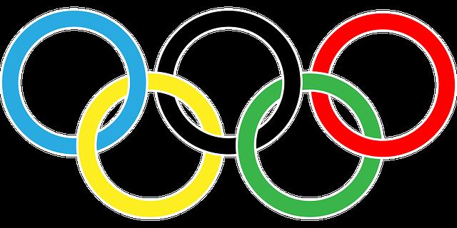 オリンピックの五輪。