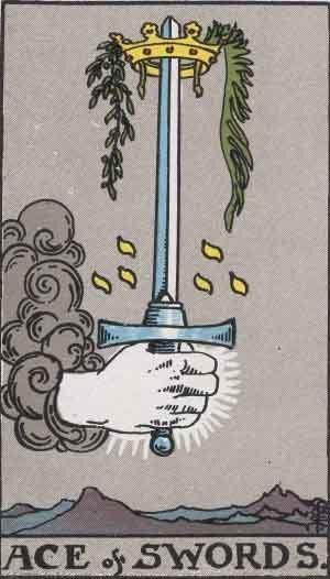 タロット小アルカナソードA の画像