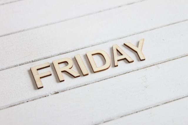 FRIDAY(金曜日)のロゴ