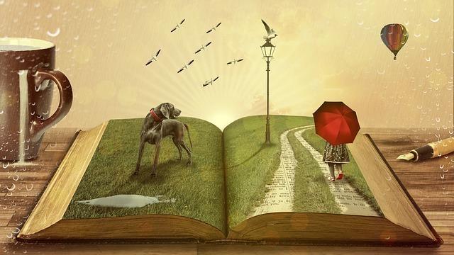 本に広がる世界