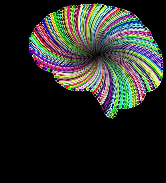 異常が生じた脳