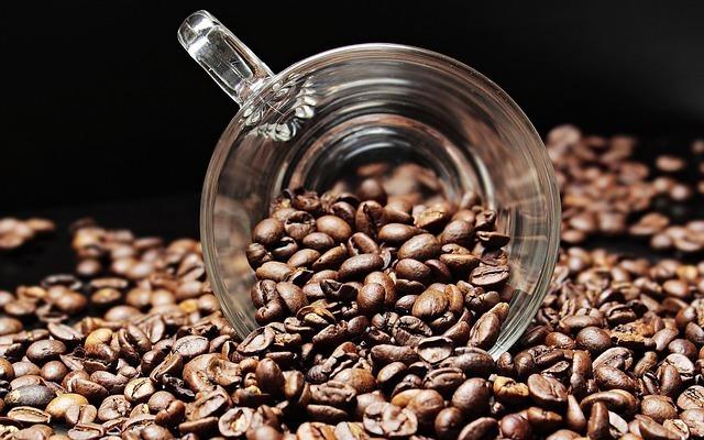 沢山のコーヒー豆