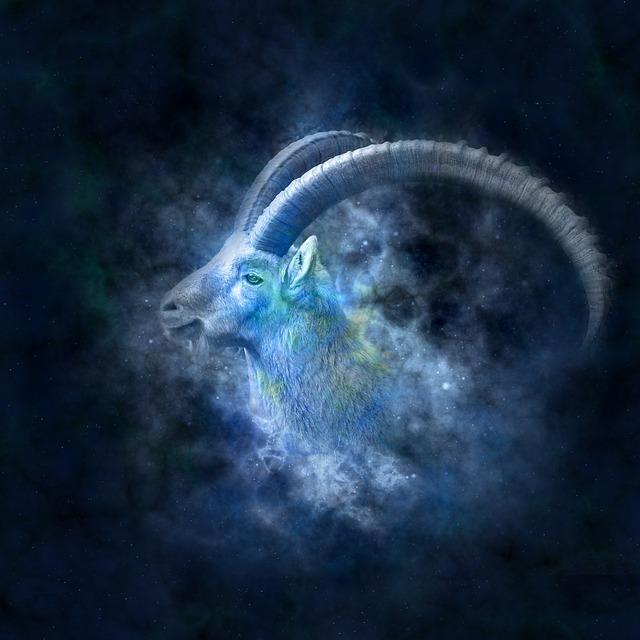 山羊座の象徴的な絵