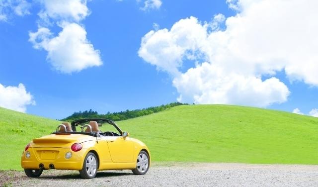 友人とドライブ
