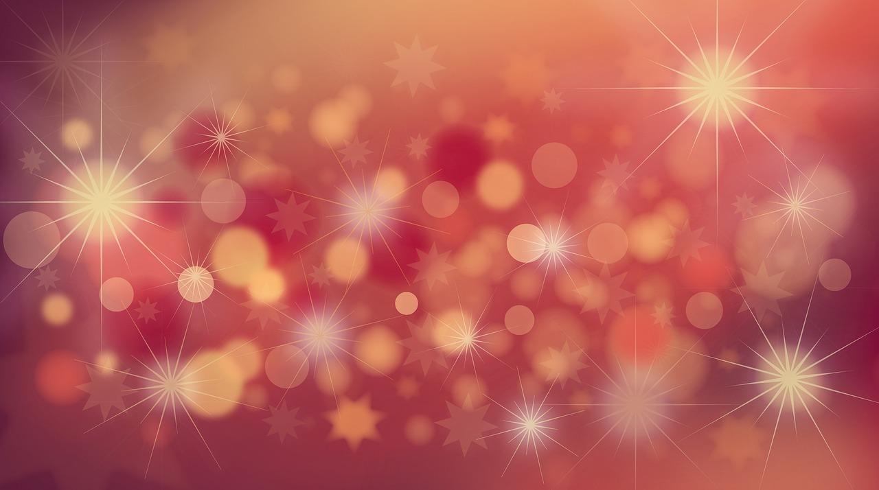 キラキラした星