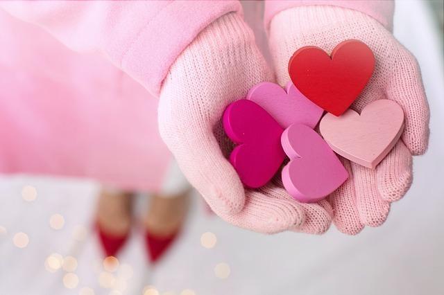 心を贈るイメージ