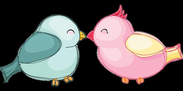 つがいの鳥