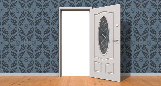 開かれたドア