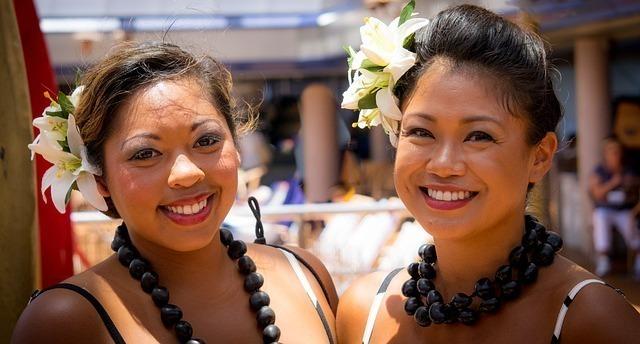 ハワイの女性たち