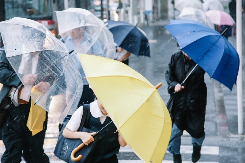 強い雨・長時間の雨