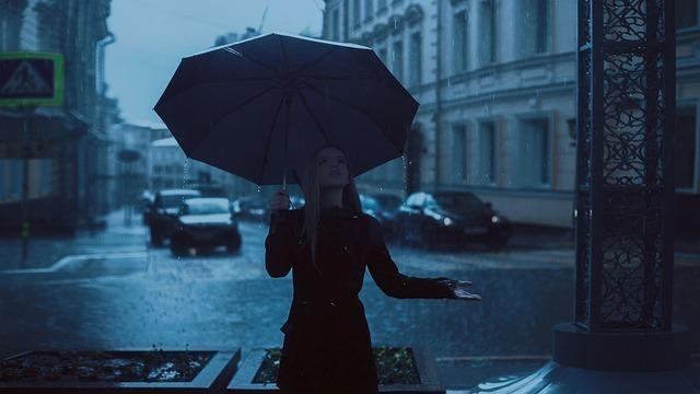 イレギュラーな雨