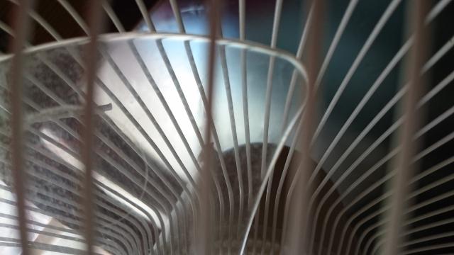 扇風機の掃除手順