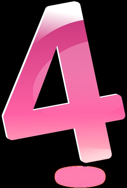 【4】のエンジェルナンバーの意味