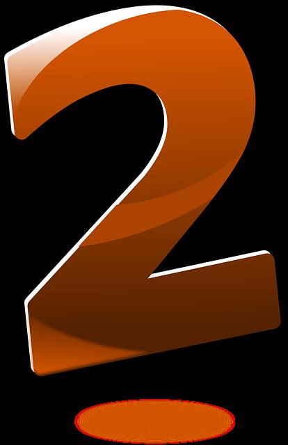 【2】のエンジェルナンバーの意味