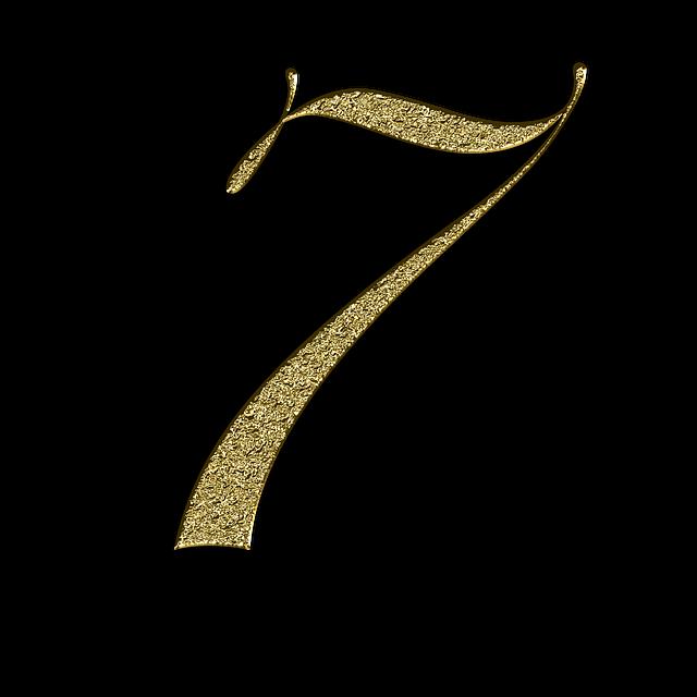 エンジェルナンバー 7