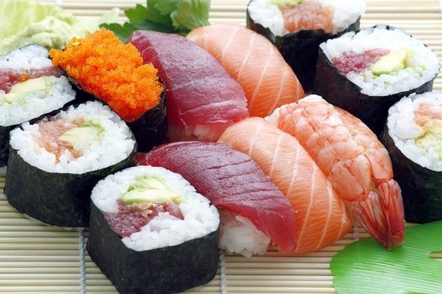 「日本といえば」で連想できる食べ物1位:寿司