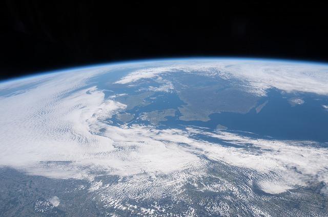 宇宙から見える地球
