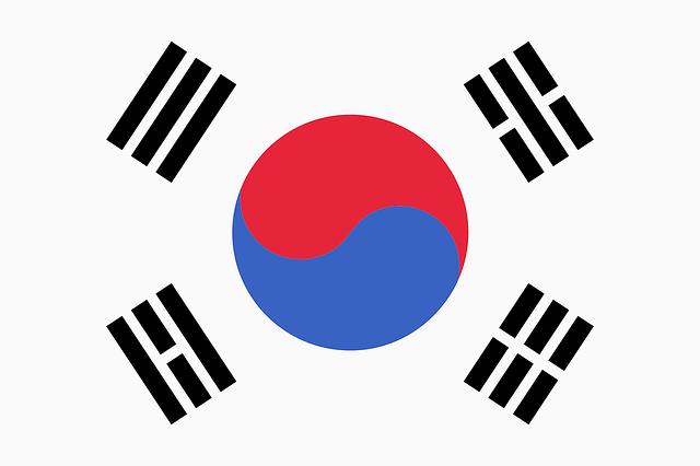 太極旗と呼ばれている韓国国旗