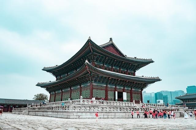 ソウルの有名な観光地である景福宮