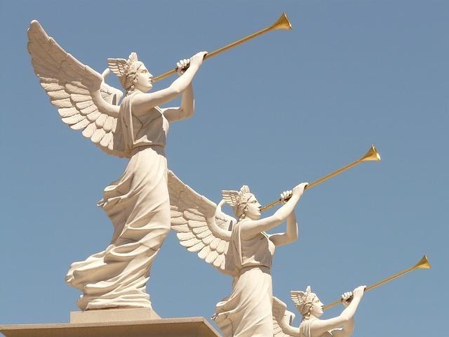 たくさんの天使があなたを応援しています
